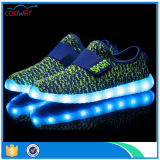 OEM/ODM modifican los zapatos corrientes del deporte para requisitos particulares de la luz del LED