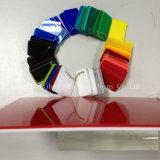 La double couleur en plastique a moulé le panneau acrylique pour la décoration
