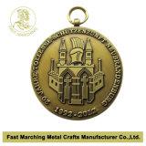 Médaille de match de basket de souvenir de récompense, médaillon de bonne qualité