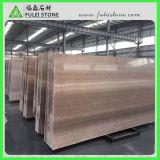コーヒー木の大理石のブラウンの木製の大理石の中国の木の大理石の平板