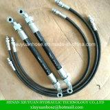 Montaggio idraulico del tubo flessibile di gomma flessibile ad alta pressione all'ingrosso