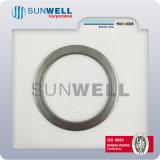 316 (L) anéis espirais das gaxetas da ferida dos anéis internos ou exteriores