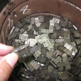 O segmento do diamante para a circular considerou o granito de moedura da estaca da lâmina