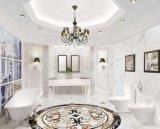 Mattonelle di pavimento Polished della porcellana di marmo di Calacatta