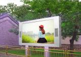 Alta uniformidad P10 LED a todo color al aire libre que hace publicidad de la pantalla