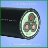 медный кабель провода XLPE проводника 3core