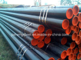 Tubulação de aço preta
