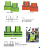 Vestuário de segurança de segurança de malha Vest Veste de protecção de equipamento de segurança rodoviária