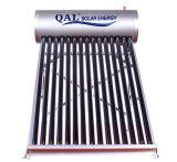 Aluminio solar no presurizado del calentador de agua de la aleación 150L