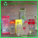 Freier kosmetischer Plastikschaukarton