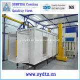 Revêtement en poudre de haute qualité Salle de peinture électrostatique par pulvérisation