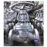 Robinet d'arrêt sphérique d'acier du carbone DIN Pn16/25/40/63/100/160