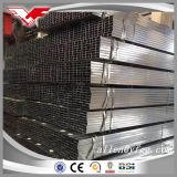 precio cuadrado pre galvanizado fino del tubo del espesor de pared de 25X25m m