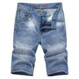 Il denim di estate degli uomini casuali mette gli Shorts in cortocircuito delle Bermude Jean di modo