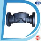 Válvula de controle material de nylon plástica do solenóide do diafragma da maneira do preto 2