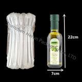 Bottiglia di vino di vetro libera di trasporto 750ml con il sacchetto della colonna