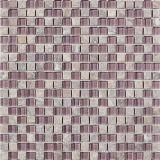 Mosaico di pietra di marmo naturale del reticolo di mosaico per la stanza da bagno