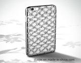 레이스 iPhone 7 전화 상자 (XSDD-008)를 위한 속을 비게 한 밖으로 다이아몬드 TPU 이동 전화 상자를 전기도금을 하는 빈 꽃 세트 다이아몬드