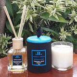 8 Rattan-Stock-Ozean-Aroma-dekorativer Reeddiffuser (zerstäuber) in der Glasflasche