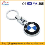 BMW promotionnelle Logo Metal Key Chain de Custom avec Key Ring