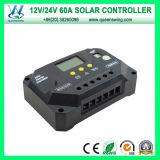Het zonne Controlemechanisme van de Last van het Systeem van het Huis 60A Zonne (qwp-VS6024U)