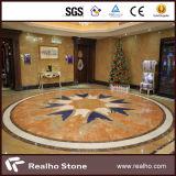Mattonelle di pavimentazione imperiali del marmo dell'oro del fornitore esclusivo