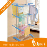 Sistema de sequía plegable del estante del almacenaje resistente y compacto, talla superior Jp-Cr300W3