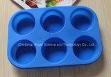инструмент Sc29 торта силикона прессформы шоколада силикона 6-Cavity