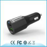 Schnelle Ladung QC2.0 USB-Auto-Aufladeeinheit