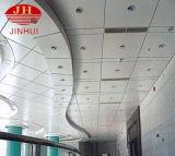 Telhas acústicas de alumínio brancas à prova de fogo do teto suspendido de telha/metal de telhado