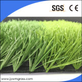 Anti-UV Portare-Resisting Artificial Carpet Turf per Football/Soccer Grass