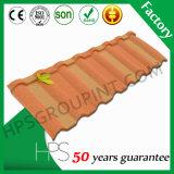 Material revestido durável da telha da folha do telhado da longa vida/telhado da pedra com cores diferentes