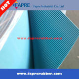 Industrial Blue Red Black Couleur / Fabric Insertion Rubber Sheet.