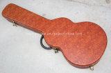 Música de Hanhai/guitarra eléctrica rojo marrón Hardcase (bolso)