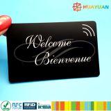 Cartões personalizados do PVC RFID NTAG216 NFC para a identificação
