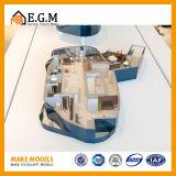 最も絶妙で、最も美しいアパートのモデルまたは単位モデルか内部モデル/Sceneのモデルまたは単位のモデル/Apartmentモデル