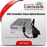 2 ый дорогой франтовской приемник AGC Controlled CATV FTTH крытый оптически
