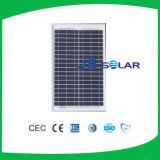 Panneau solaire de l'homologation 30W d'Idcol poly pour le système domestique solaire