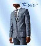 Qualitäts-hellblaue nach Mass angefertigte Männer drei PCS-Hochzeits-Klage