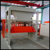 Máquina de fabricación de ladrillo concreta de la pavimentadora del cemento automático