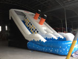 PersonalまたはCommercial UsedのためのWater Poolの夏Popular Inflatable Water Slide