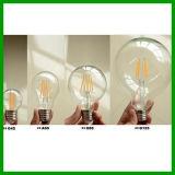 목록으로 만들어지는 최신 인기 상품 85-265V 4W/6W/8W 800lm A60 LED 필라멘트 전구 UL