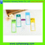 6X 신용 카드 손 돋보기 유리 또는 승진 선물 Hw-805를 위한 구경측정을%s 가진 돋보기 또는 손 렌즈