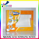 2016 a réutilisé l'empaquetage pliable blanc de cadre de guichet de papier d'emballage