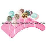 Soporte de visualización de acrílico del Lollipop de las ventas de la fábrica de Shenzhen