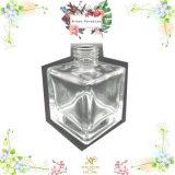 120 ml de fábrica Venta directa del aroma difusor de lámina Material de vidrio, botella de la fragancia de cristal, tarro de perfume