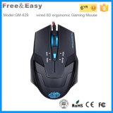 Fahsionable y barato 6D ergonómico ratón para juegos