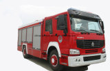 Coche de bomberos profesional del equipo del fuego del coche de bomberos del tanque de agua de la fuente 15m5 de la talla Water+Foam
