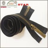 Il metallo 10# Apre-End Zipper per Garment