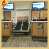 Convoyeur réglable adapté aux besoins du client d'aéroport de bagages d'armature d'acier inoxydable (AC-01)